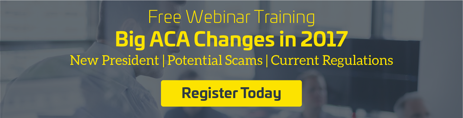 big aca changes in 2017 webinar training